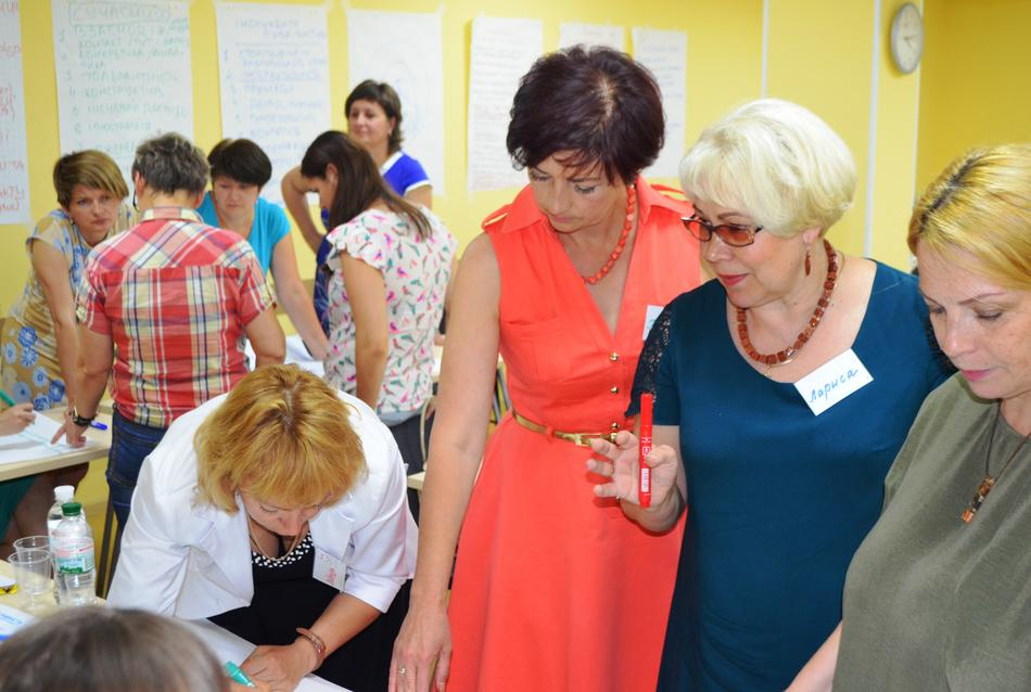 "On June 26, 2017, the first event from the cycle of trainings ""Women - Leaders of Changes in Local Communities"" took place in Vinnytsia"