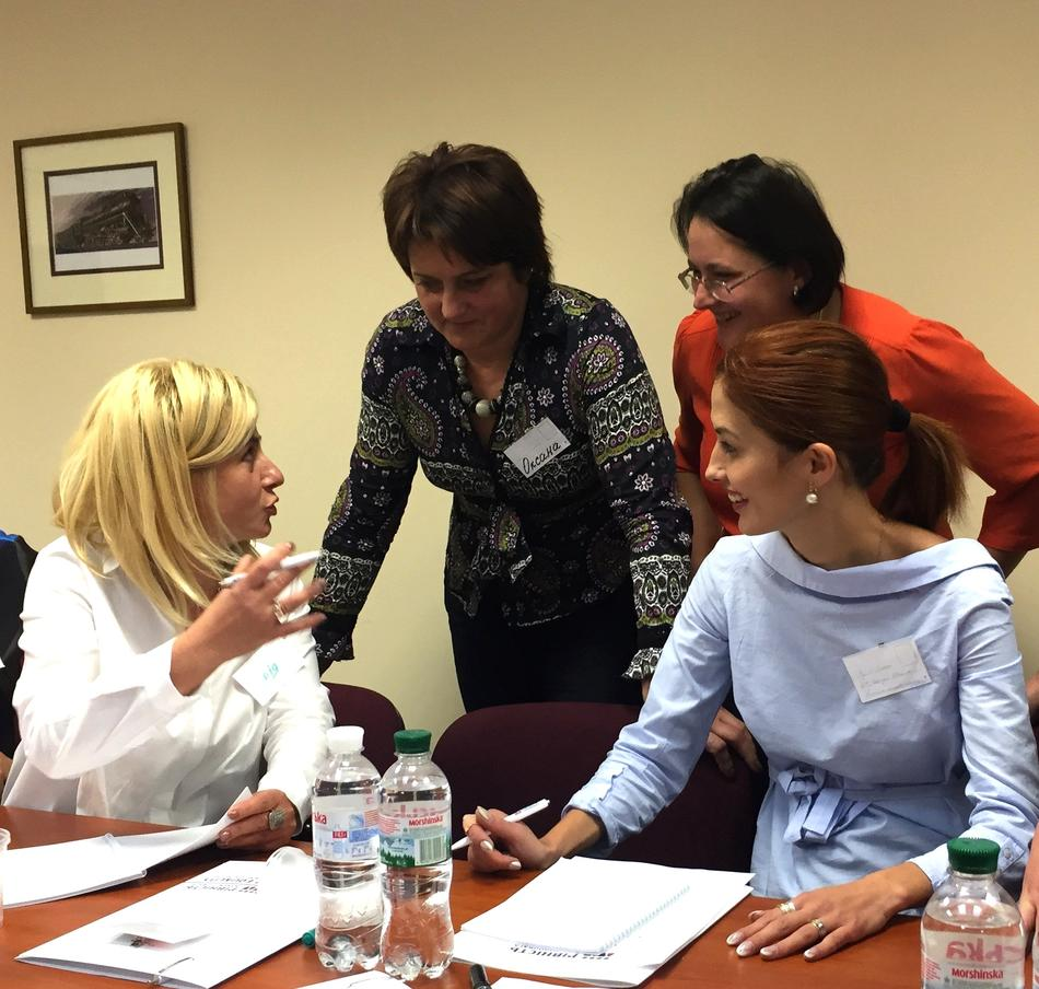 "On October 6, 2017, training ""Women - Leaders of Changes in Local Communities"" took place for the representatives of Lviv and Zakarpattia oblasts"