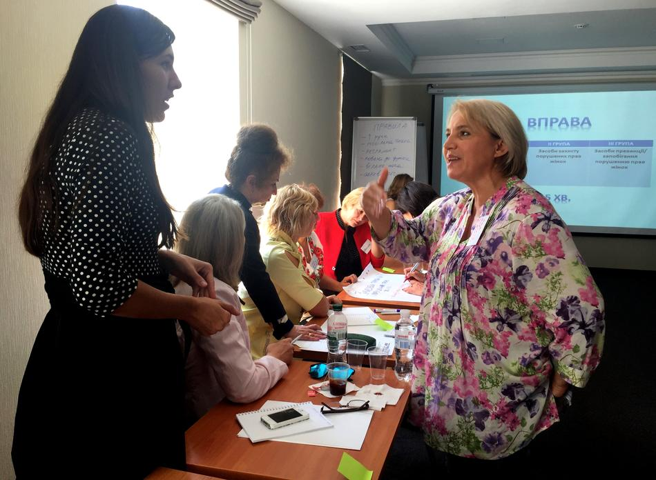 "On September 11, 2017, for the representatives of Chernihiv and Kyiv oblasts took place a training ""Women - Leaders of Changes in Local Communities"""