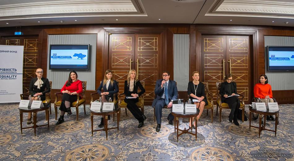 24 листопада 2017р. у Києві відбулась Міжрегіональна конференція «Жінки-лідери змін в місцевих громадах»